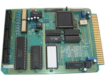自带8路光隔(4路输入/4路输出),一个八位d/a,一片8155i/o接口,具有rs