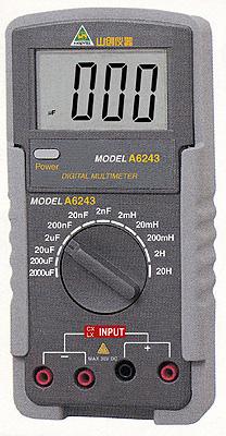 山创仪器仪表,数字电感表电容表,a6243 电容电感表